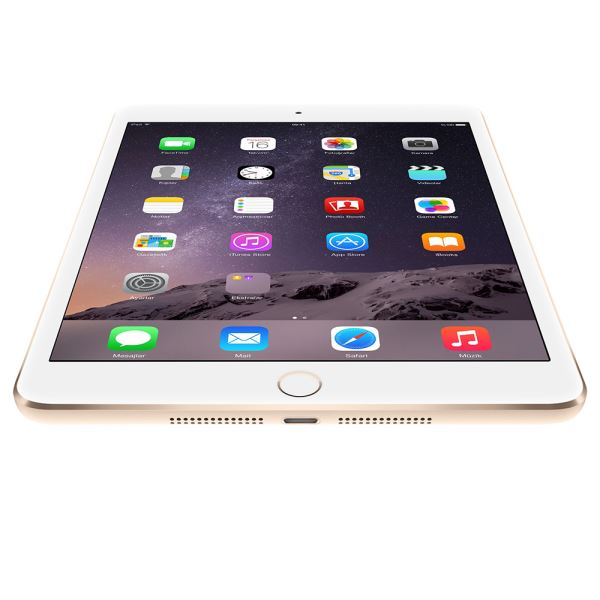 Ipad Mini4-16GB WIFI+4G Gold-7.9''Retina-Bluetooth-10 SaateKadar PilÖmrü-304Gr