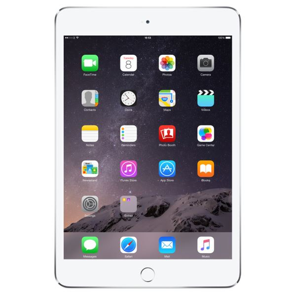 Ipad Mini4-128GB WIFI+4G Sılver-7.9''Retina-Bluetooth-10 SaateKadarPilÖmrü-299Gr