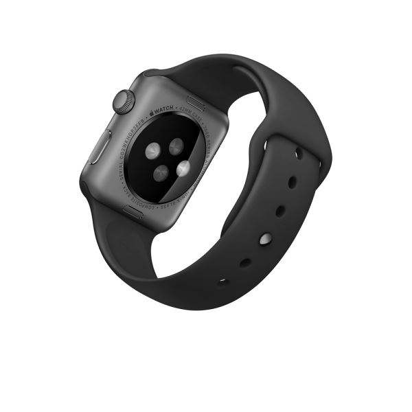 WATCH 42MM GRY AL BLK SPORT TRY ON-INT DEMO