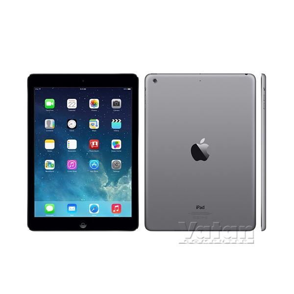 Ipad Air-64GB WIFI+4G-UzayGri-9.7''Retina-Bluetooth-10 SaateKadar Pil Ömrü-469Gr