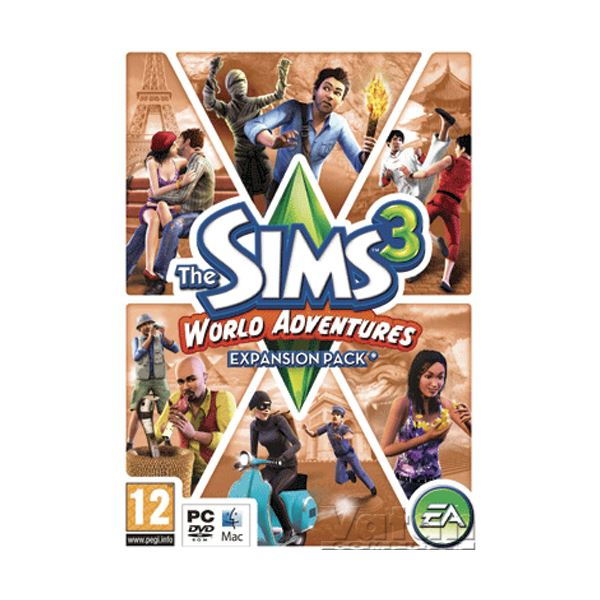 PC SIMS 3 WORLD ADVENTURES