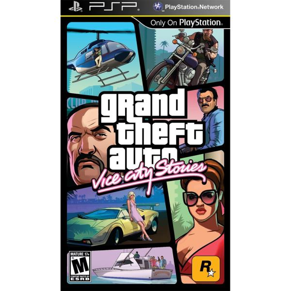 PSP GTA VİCE CITY STORIES