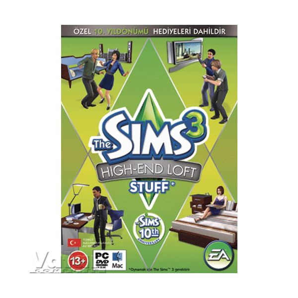 PC THE SIMS 3 HIGH END LOFT STUFF