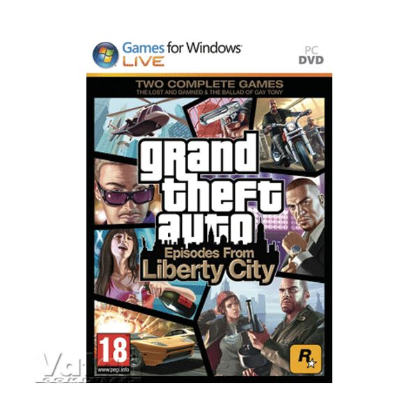 PC GTA EPISODES FROM LIBERTY CITY
