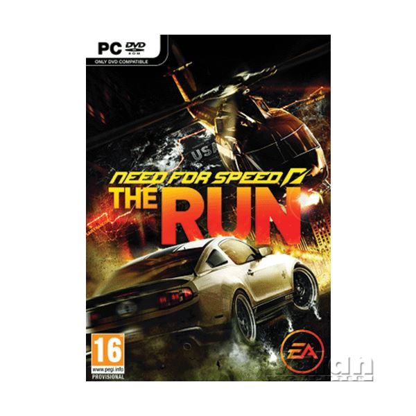 PC NEED FOR SPEED THE RUN