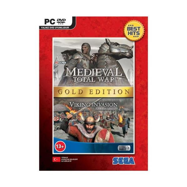 PC MEDIEVAL TOTAL WAR GOLD