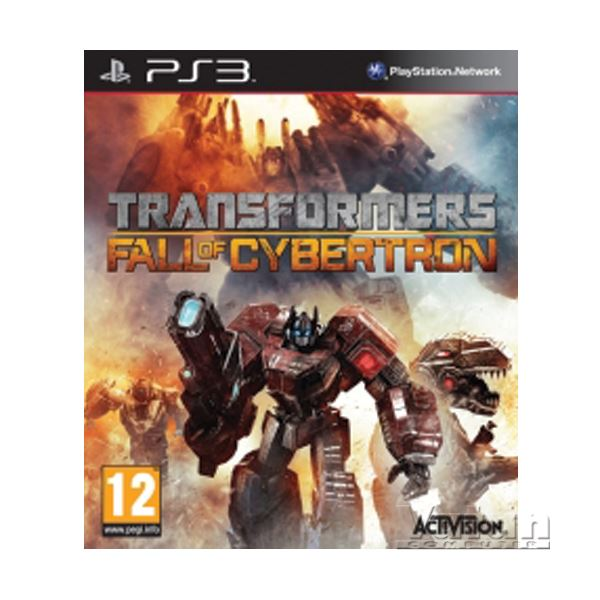 PS3 TRANFORMERS FALL OF CYBERTRON