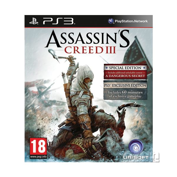 PS3 ASSASSINS CREED III SPECIAL ED.