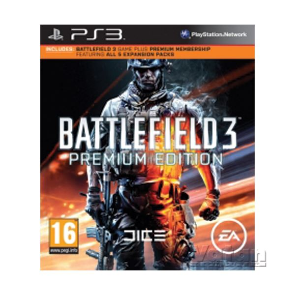 PS3 BATTLEFIELD 3 PREMIUM EDITION