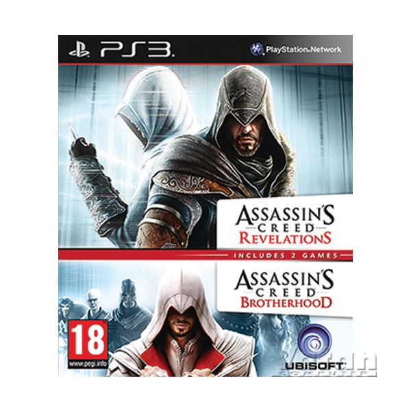 PS3 ASSASSINS CREED REVELATIONS + BROTHERHOOD