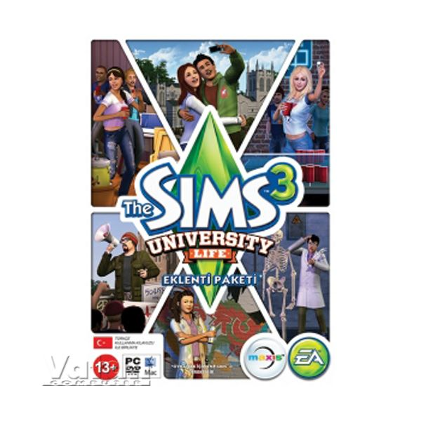 PC THE SIMS 3 UNIVERSITY LIFE