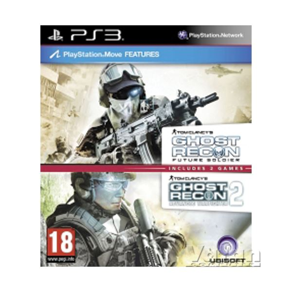 PS3 GHOST RECON 2 + FUTURE SOLDIER