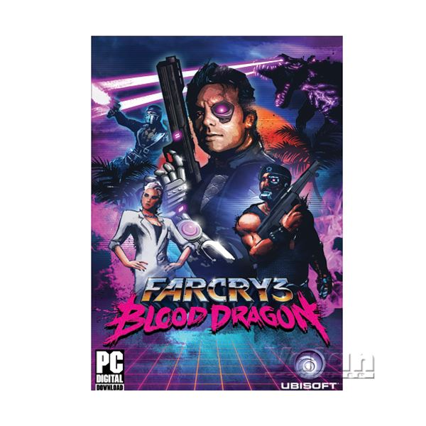 PC FAR CRY 3 BLOOD DRAGON