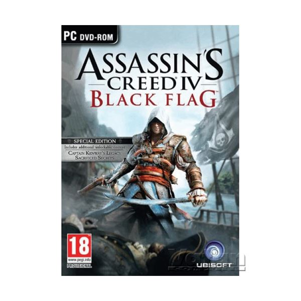 PC ASSASSINS CREED IV BLACK FLAG SPECIAL ED.