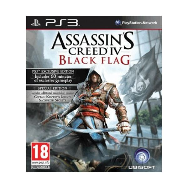 PS3 ASSASSINS CREED IV BLACK FLAG SPECIAL ED.