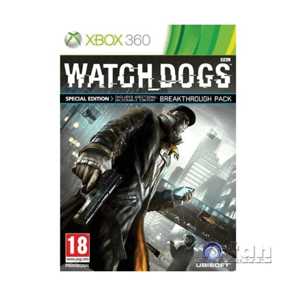 Xbox 360 WATCH DOGS SPECIAL ED.