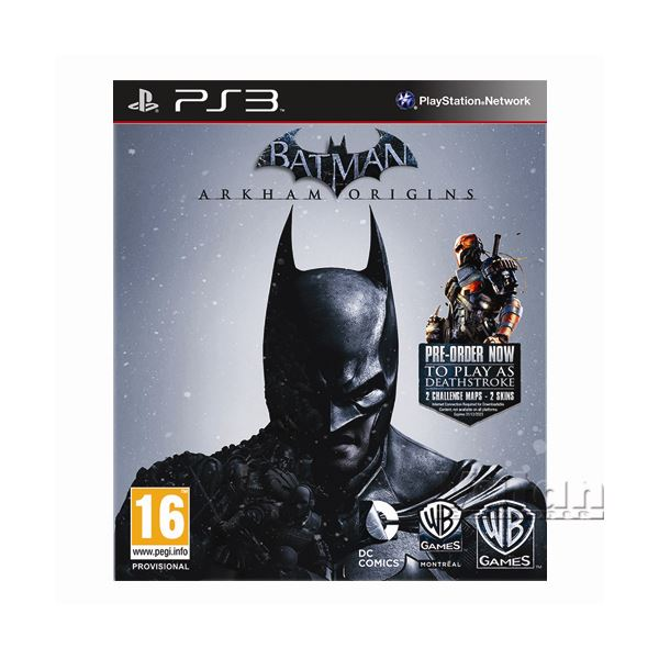 PS3 BATMAN ARKHAM ORIGINS LIMITED EDITION