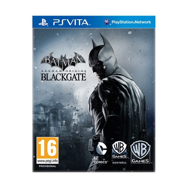 PSPVITA BATMAN ARKHAM ORIGINS BLACKGATE