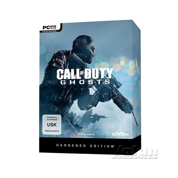PC CALL OF DUTY GHOSTS HARDENED EDITION