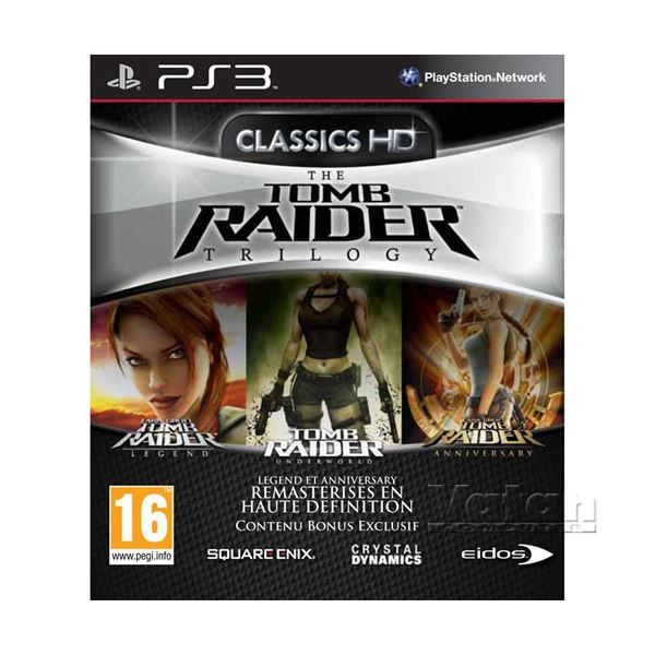 PS3 TOMB RAIDER TRILOGY