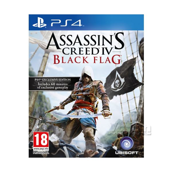 PS4 ASSASSINS CREED IV BLACK FLAG