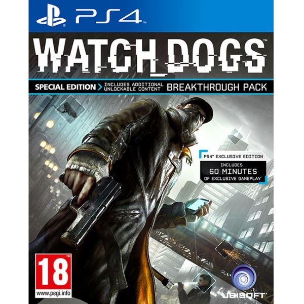 PS4 WATCH DOGS SPECIAL ED.