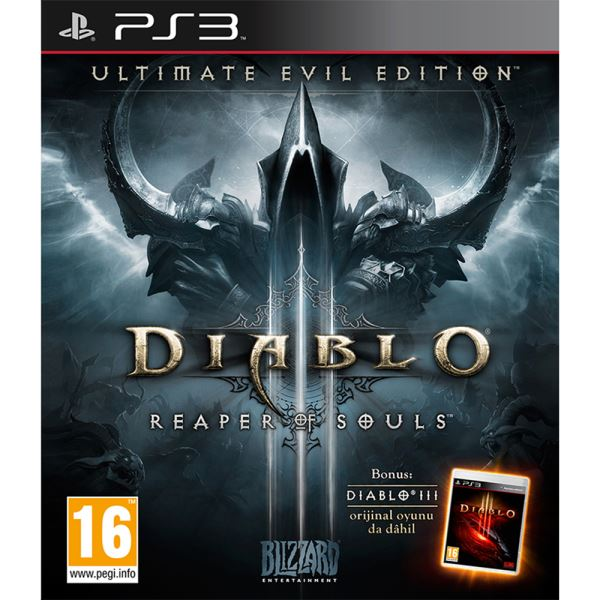 PS3 DIABLO 3 ULTIMATE EVIL EDITION