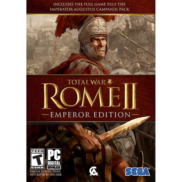 PC TOTAL WAR ROME 2 EMPEROR EDT