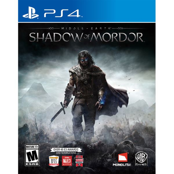 PS4 MIDDLE EARTH SHADOW OF MORDOR