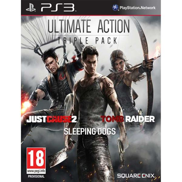 PS3 ULTIMATE ACTION PACK