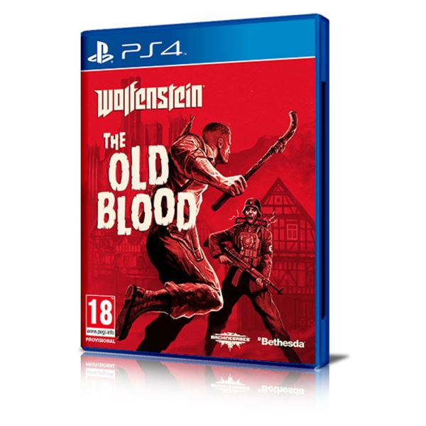 PS4 WOLFENSTEIN: THE OLD BLOOD