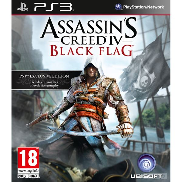 PS3 ASSASSINS CREED IV BLACK FLAG