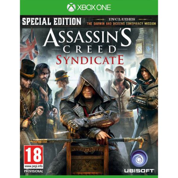 XBOX ONE ASSASSINS CREED SYNDICATE SPECIAL EDT.