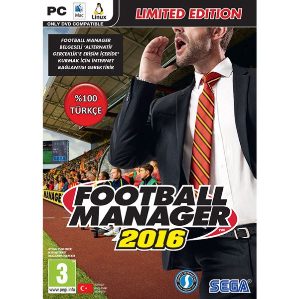 PC FOOTBALL MANAGER 2016 LIMITED EDİTİON