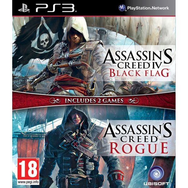 PS3 ASSASINS CREED DOUBLE PACK