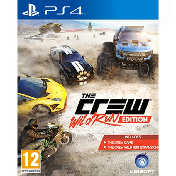 PS4 THE CREW WILD RUN EDITION
