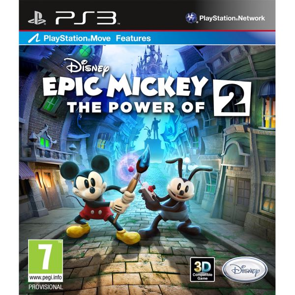 PS3 DISNEY EPIC MICKEY 2