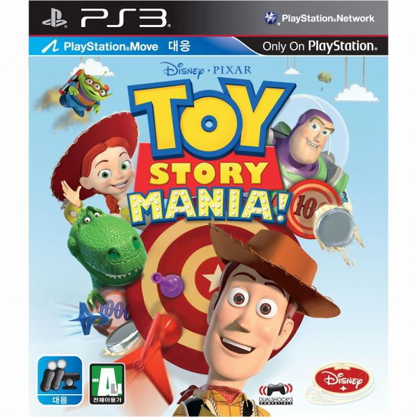 PS3 TOY STORY MANIA 2012