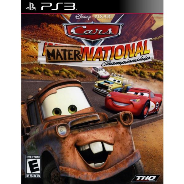 PS3 CARS MATER INTERNATIONAL