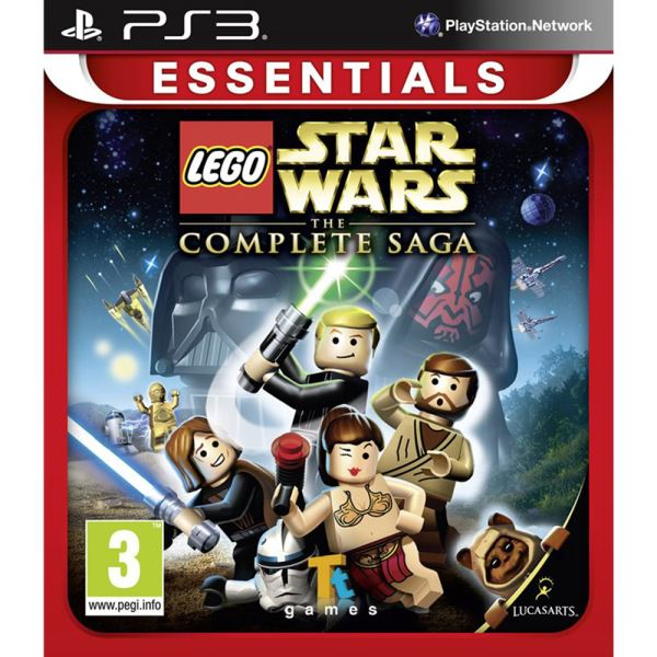 PS3 DISNEY LEGO STAR WARS THE COMPLETE SAGA