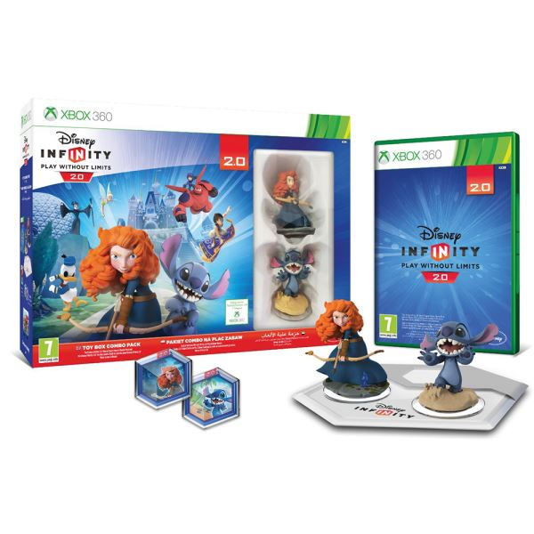 X360 DISNEY INFINITY 2.0 ORIGINALS STARTER PACK