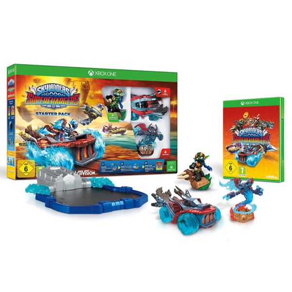 XBOX ONE SKYLANDERS SUPERCHARGERS STARTER PACK