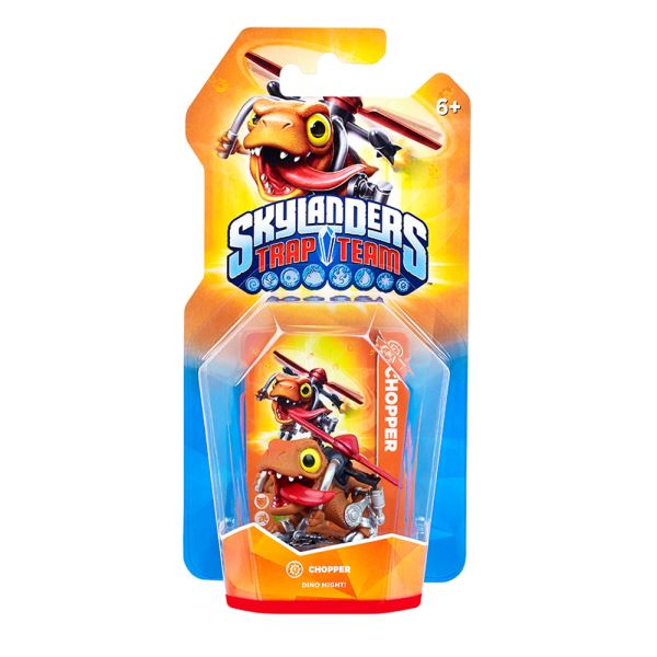 SKYLANDERS TRAP TEAM SINGLE CHOPPER
