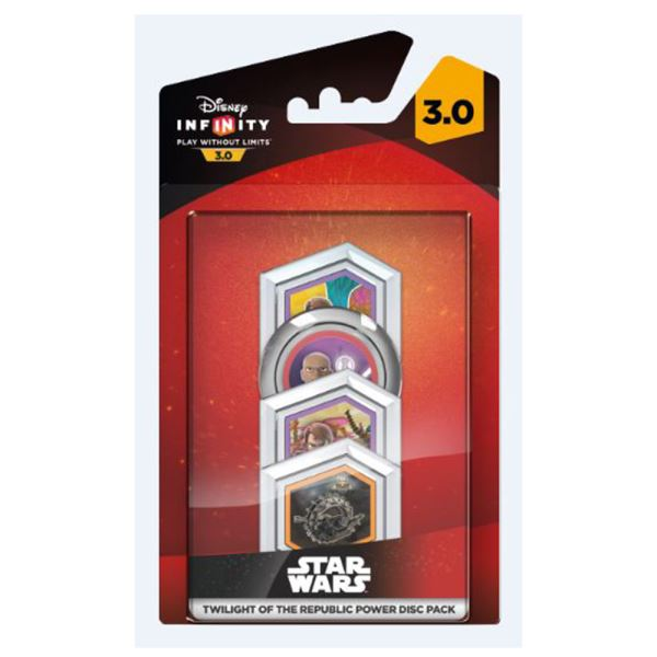 DISNEY INFINITY 3.0 TWILIGHT OF REPUBLIC POW DISC