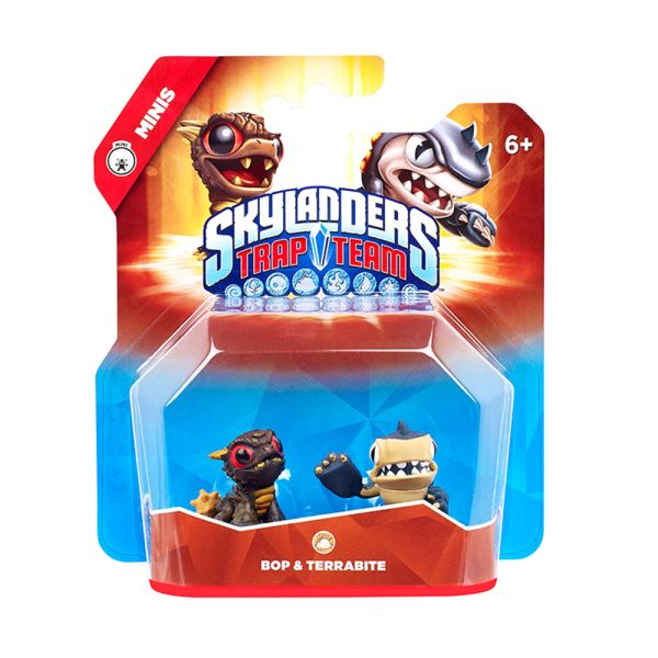 SKYLANDERS TRAP TEAM MINI BOP+TERRABITE