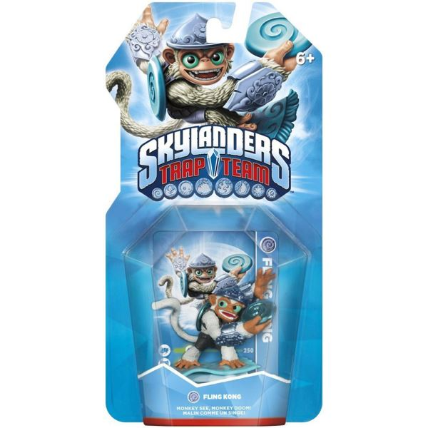 SKYLANDERS TRAP TEAM SINGLE FLING KONG