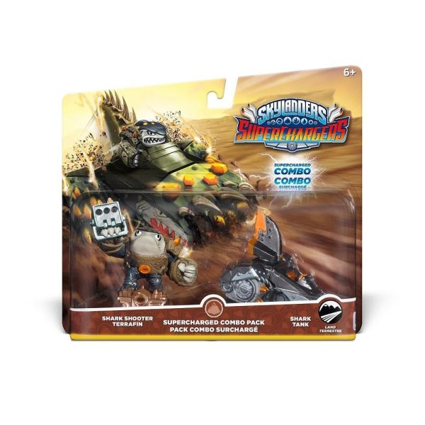 SKYLANDERS SUPERCHARGERS SUPERCHARGED COMBO SHARK