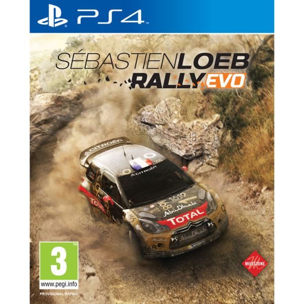 PS4 SEBASTIEN LOEB: RALLY EVO