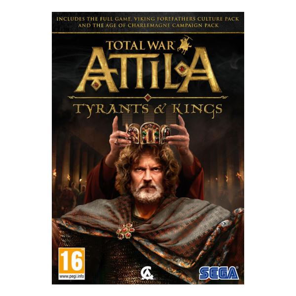 PC TOTAL WAR ATTILA TYRANTS AND KINGS