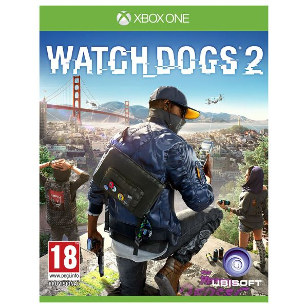 XBOX ONE WATCH DOGS 2